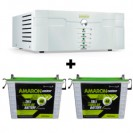AMARON 1400 SINE WAVE UPS AND 2 PCS AMARON AAM-CR-CRTT150